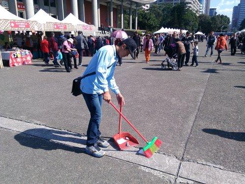 園遊會活動清潔