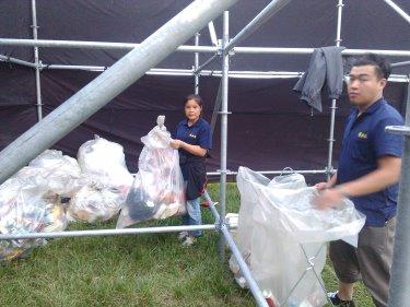 演唱會活動清潔